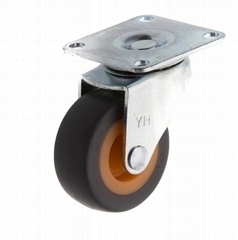 20 Series 278 High Elastic TPR Caster (Swivel Plate)