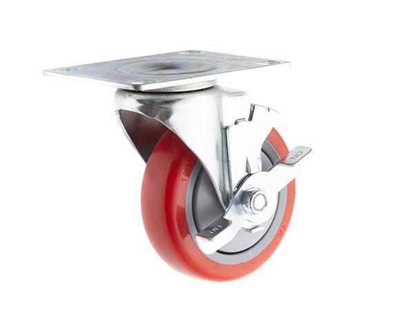 swivel plate with brake