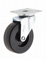 64 mm PU/PP Furniture Caster