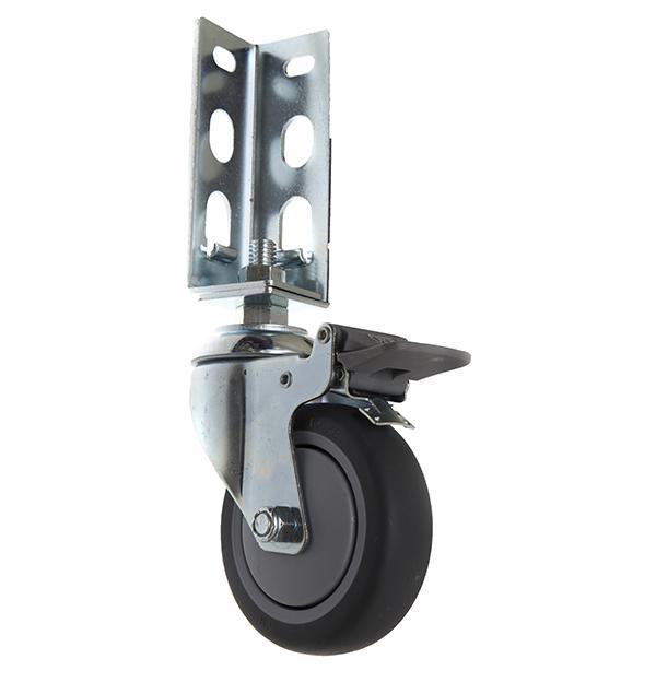 免螺絲角鋼輪 - 414  TPR
