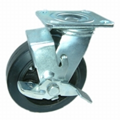 620 橡膠荷重 剎車輪