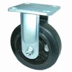620 橡膠荷重 固定輪