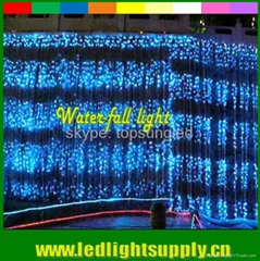 LED waterfall Light