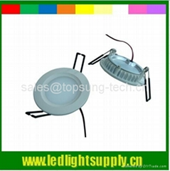 Round LED ceiling panels light