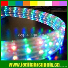 5 wire led rgb rope light strip ribbon