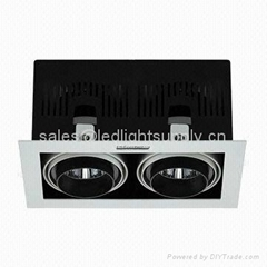 30W COB LED Grille Lamp ceiling light