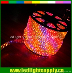 chasing rgb rope lights led duralight color changing