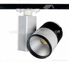 20W COB LED Track lights spot Lamp