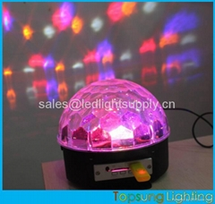 music control rgb led disco light professional stage lights for ktv