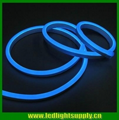 New 11*24mm mini Blue Flexible LED neon strip rope light