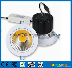 Hot selling LED downlight COB 22W made in China