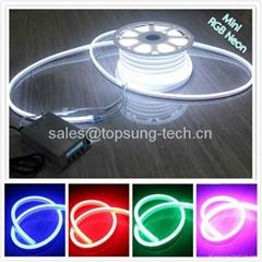 New 11*18mm RGB neon led tube 220v