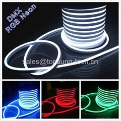 Full color changing LED Neon Light tube flexible strip