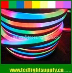 DMX 512 24V dynamic digital rgb neon a led factory