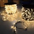100m spool 666 LED crystal led clip string lights xmas fairy strings