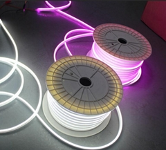 Micro size Neo Neon LED neon Flexible rope strips lights 6x12mm