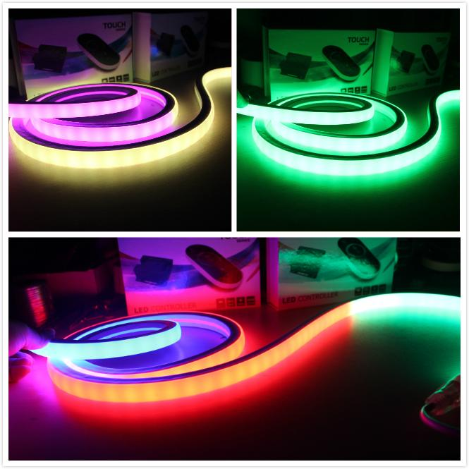 240v 白光柔性霓虹燈10*18mm超細 1