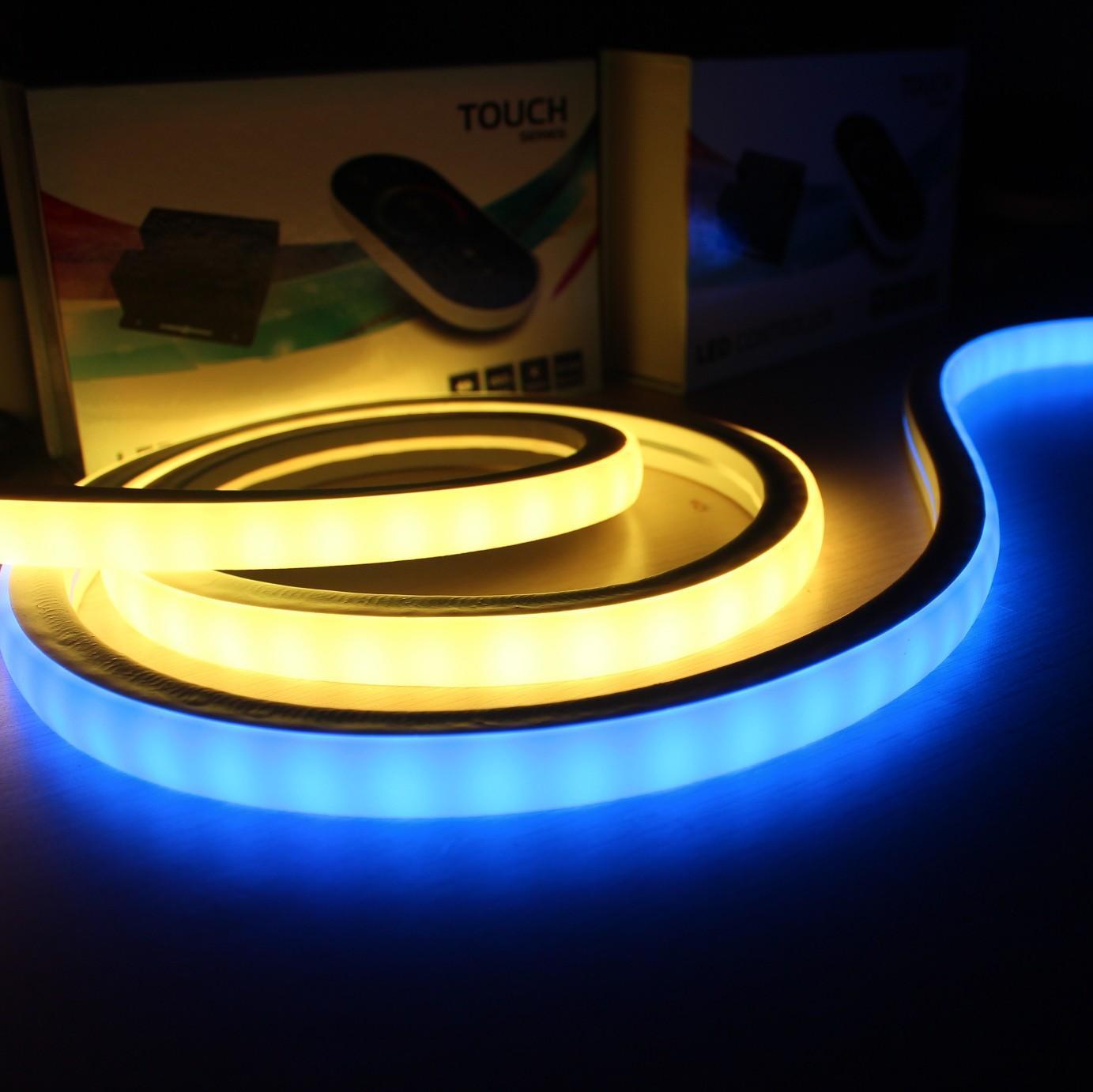 240v 白光柔性霓虹燈10*18mm超細 2