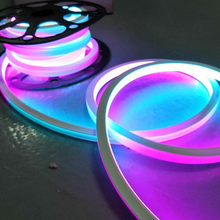 240v 白光柔性霓虹燈10*18mm超細 5