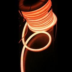 50m RGBW neon light ribbon tape flexible RGB led neon tubes 360 degree