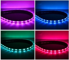 IP65 DC24 flexible wall washer RGB led strip light for building outdoor