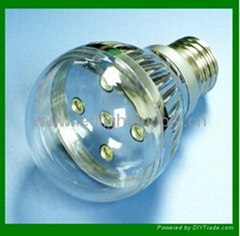 5 LED High Output LED bulb 5*1W