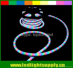 RGB led neon rope lights 4 wire color changing