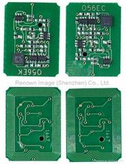 Laser jet printer chip for Xerox7400 toner cartridge chip