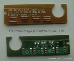 Compatible toner cartridge chip for Samsung SCX-4200 toner chip resetter