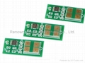 compatible toner chip used for Samsung CLP-600 toner cartridge chip