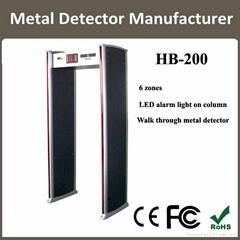 archway metal detetor