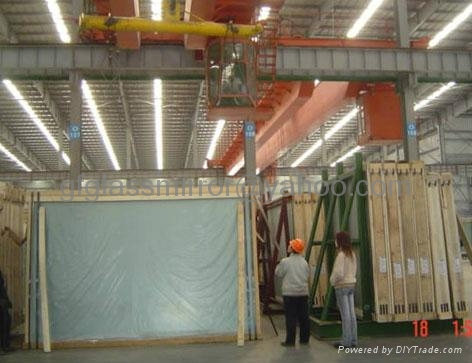 low iron glass packing
