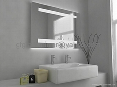 float glass mirror for bathroom mirror