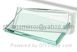 low iron  float glass for door, window