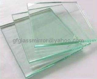 float glass panel for building
