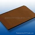 dark bronze float glass sheet