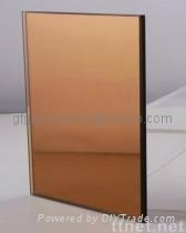 bronze mirror glass