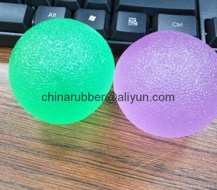 TPR stress ball, water bouncing ball with fabric, custom grape mesh squishy ball 17