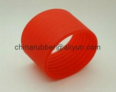 rubebr sleeve for cup. rubber bushing, rubber grip,slicone rubber