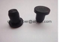 rubber stopper, rubber plug, rubber caps