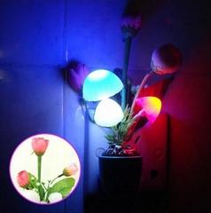 mushroom night light led mushroom decoration light led decorative flower lights