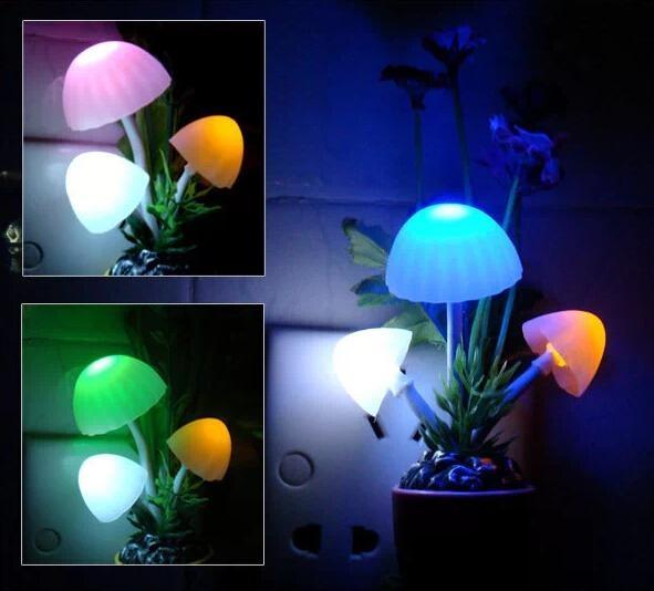 Mushroom Night Light Led Mushroom Decoration Light Led