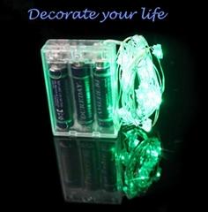 Decoration Copper Wire LED String Light  Fashion Promotion 3A Led String Light