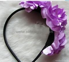 Fashion Fabric cossage headband wholesale, dropship