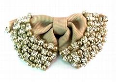 Ribbon shoe clip, ribbon shoe flower, ribbon hair flower factory wholesale