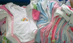 Baby rompers, stock clothes wholesale cheap clothing