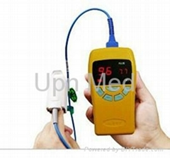 Hand-held pulse oximeter