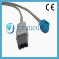 OXY-OL3 GE-Ohmeda spo2 extension cable,9pin to 8p