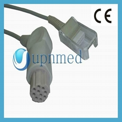 Datex spo2 adapter cable ,10pin to DB9