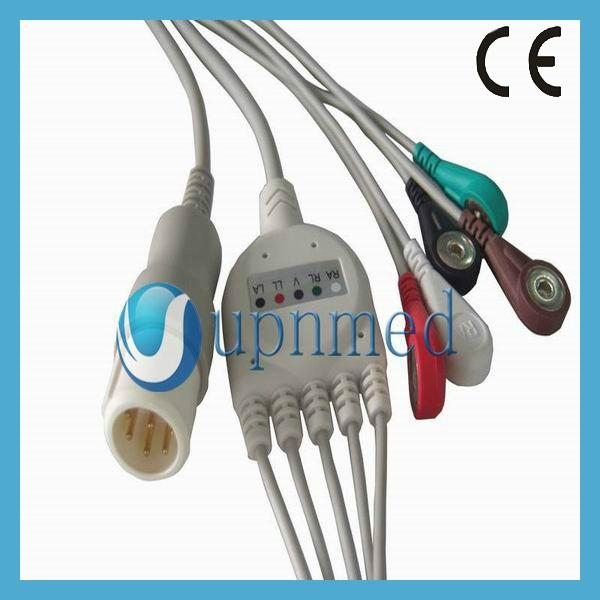 Philips 5 lead ECG cable